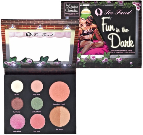too- faced Fun in the Dark Light-up Mirror Makeup Palette