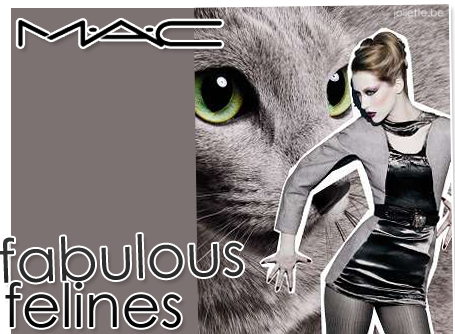 MAC Cosmetics Fabulous Felines Promo Photos For The Cat Collection