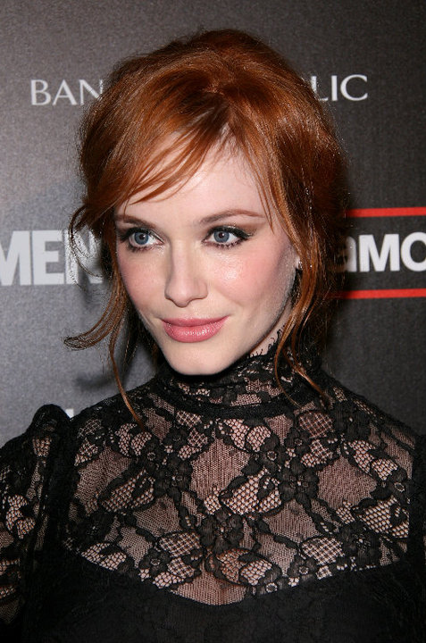 christina hendricks mad men. Hendricks at the Mad Men