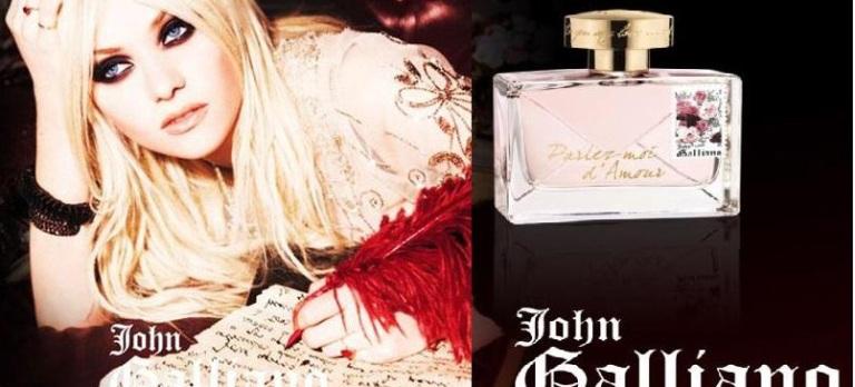 john galliano perfume. John Galliano Featuring