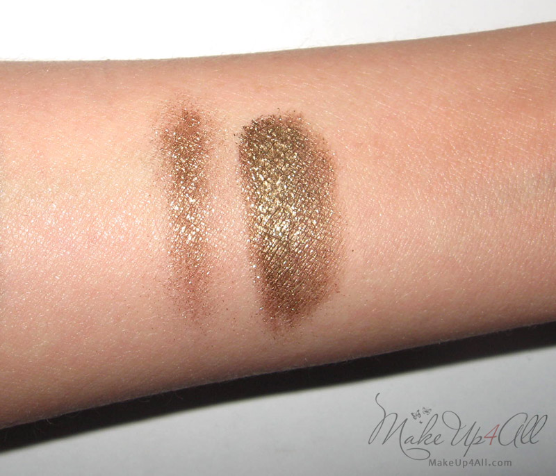 Illamasqua Pure Pigment in Ore Review and Swatches | MakeUp4All