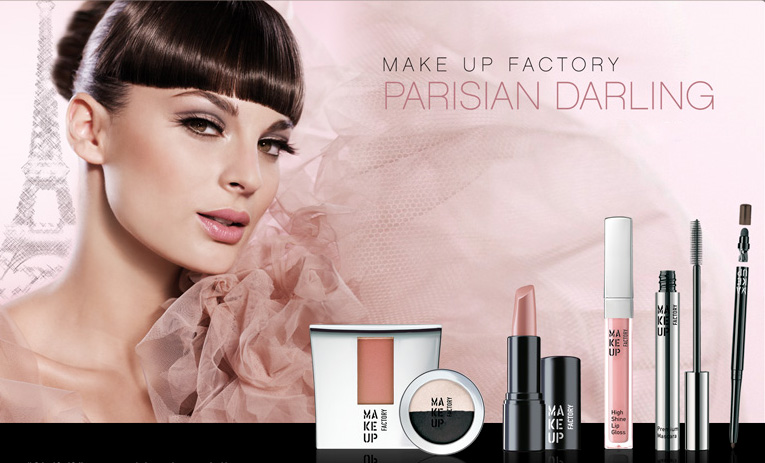 Love the Look: Parisian Darling from Make Up Factory | MakeUp4All