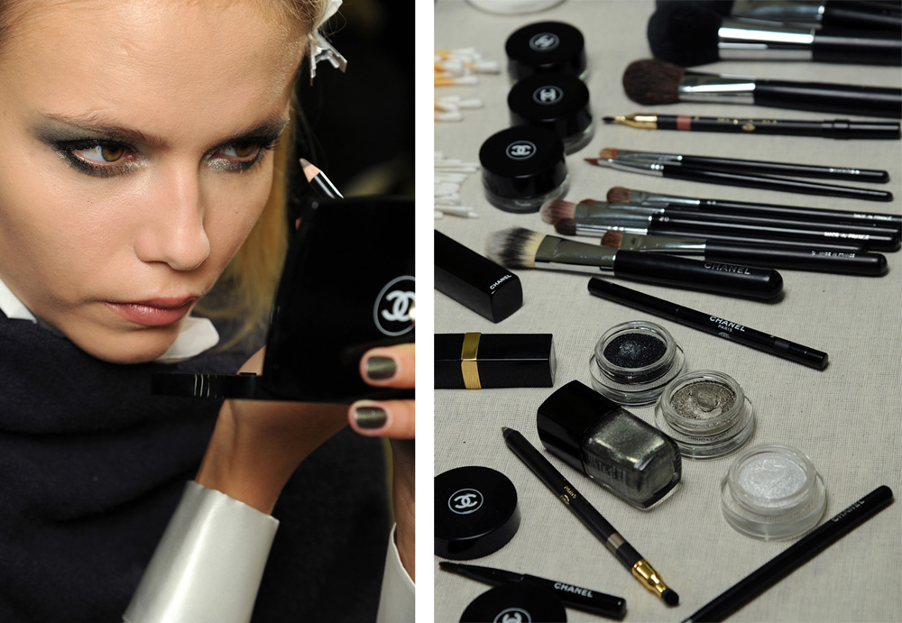 مكياج شانيل 2013 ، مكياج شانيل بالصور 2013 ، Makeup Chanel 2013 Chanel-Fall-2011-mak