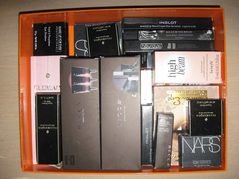 Empty Makeup Packages Do You Keep Them