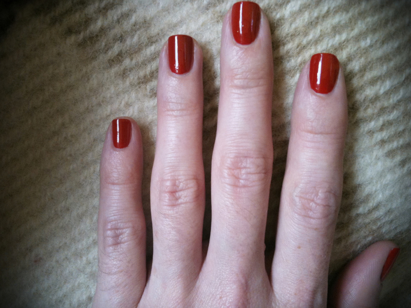 Nails Of the Day: Inglot Nail Enamel 725. A Perfect Shade For Autumn ...