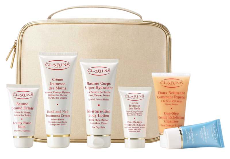 clarins face and body care collection