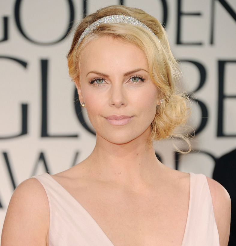 Get The Look Dior Makeup For Golden Globes Charlize Theron Natalie