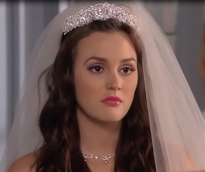 Blair Waldorf's Wedding Makeup