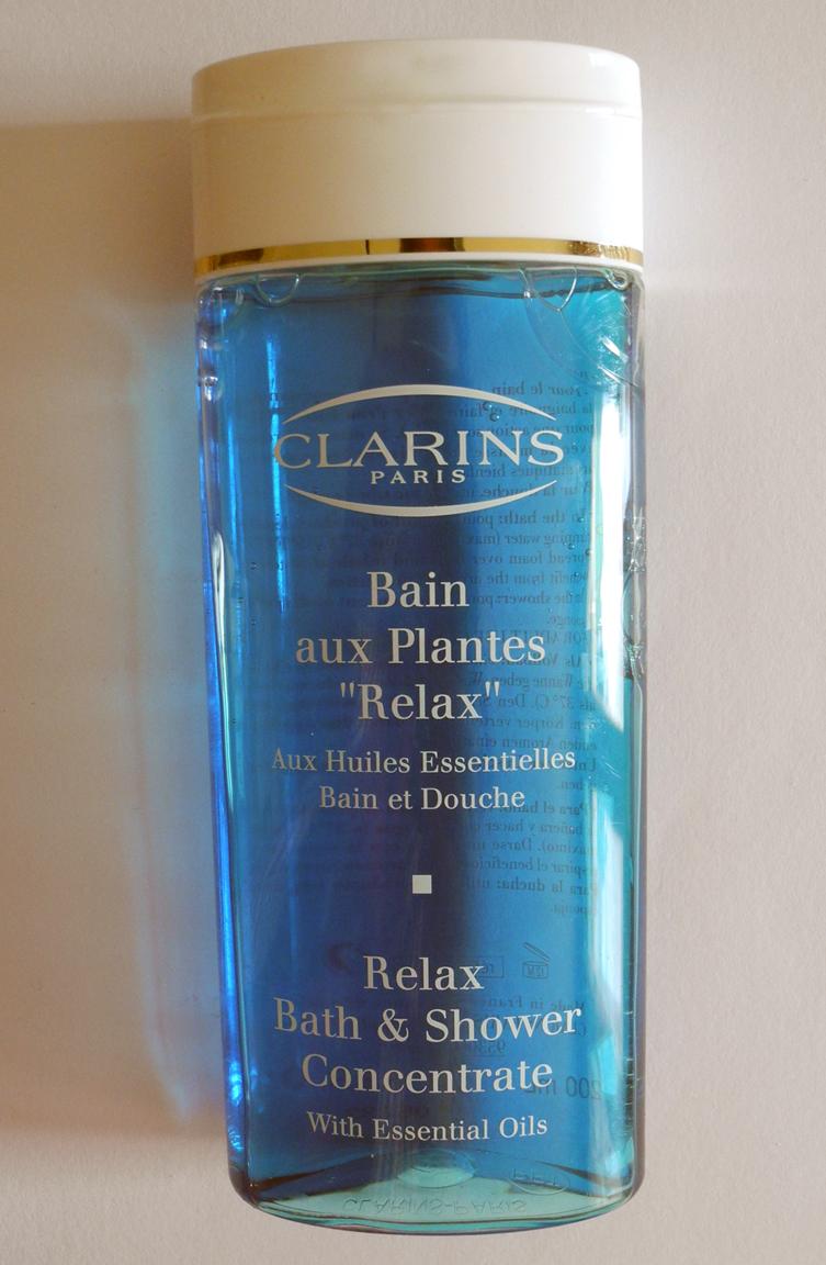 Clarins Relax Bath & Shower Concentrate Review and Photos | MakeUp4All