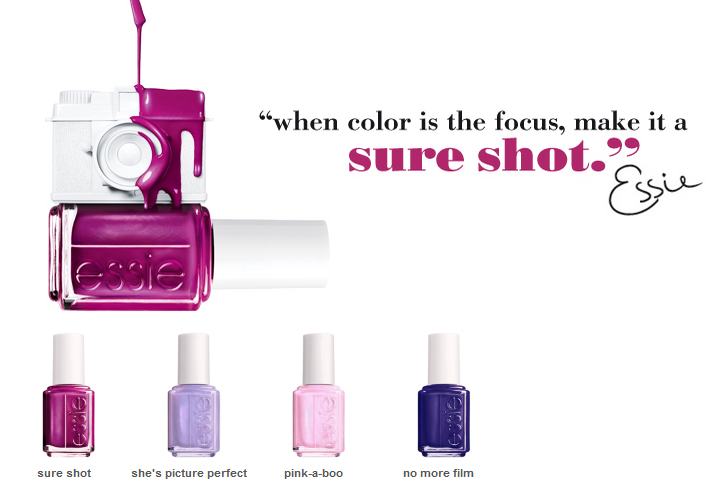 Essie Sure Shot and Poppy Razzi Nail Polish Collections for Summer