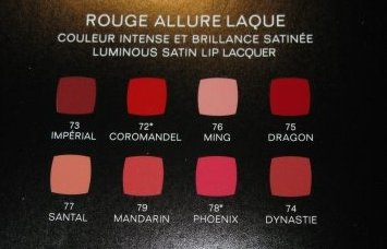 chanel allure laque