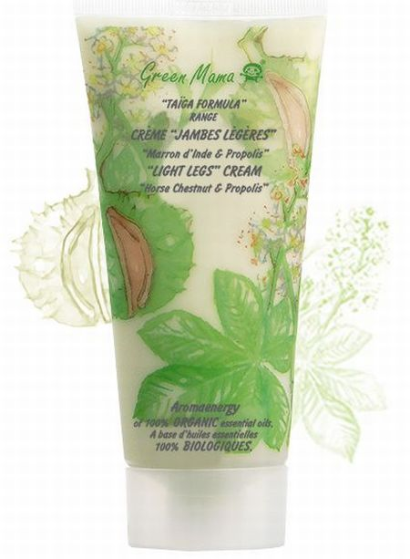 """Light Legs"" Cream by Green Mama."