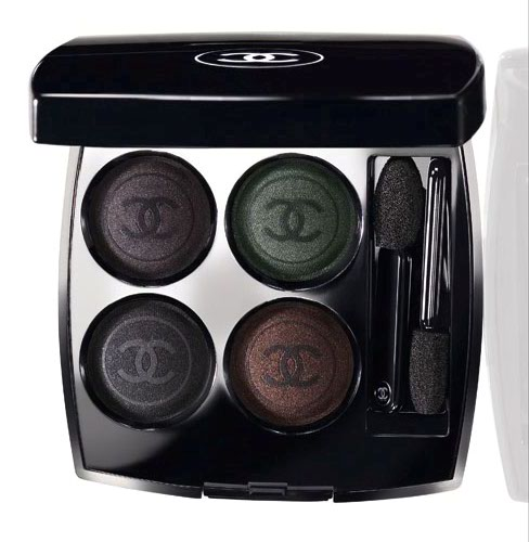 Noirs Obscurs (Dark Blacks)Collection by Chanel.Fall 2009 quad