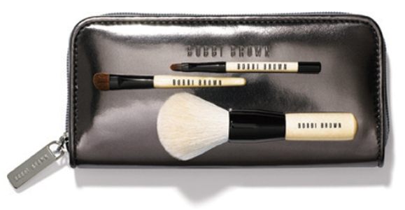 ChromeMiniBrushSet_Bobbi Brown Chrome holiday 2009