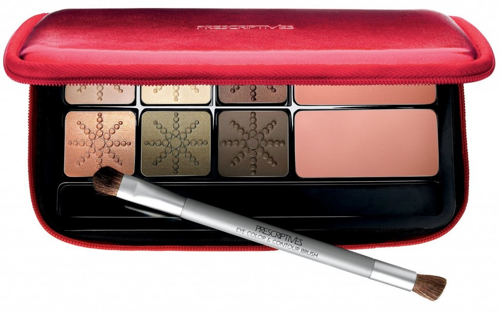 Holiday Cheek Eye Palette Warm  by Prescriptives  for Holiday 2009