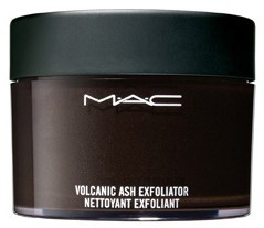 mac style black exfoliator