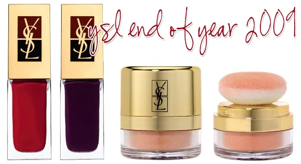 ysl holiday nails