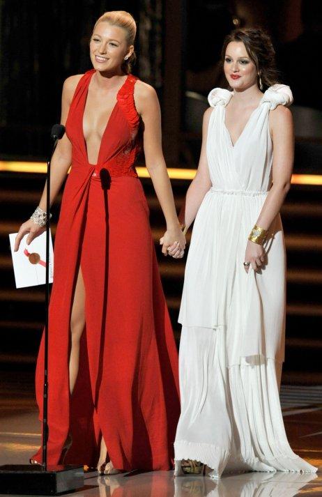 Blake_Lively Leighton_Meester-61st_Primetime_Emmy_Awards_Show