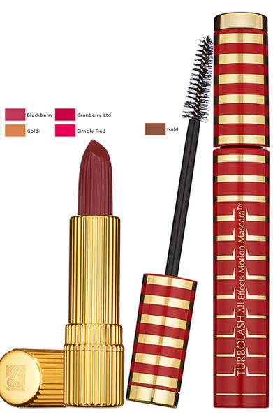 Holiday 2009 Ultimate Red Makeup Collection by Estee Lauder mascara lipstick