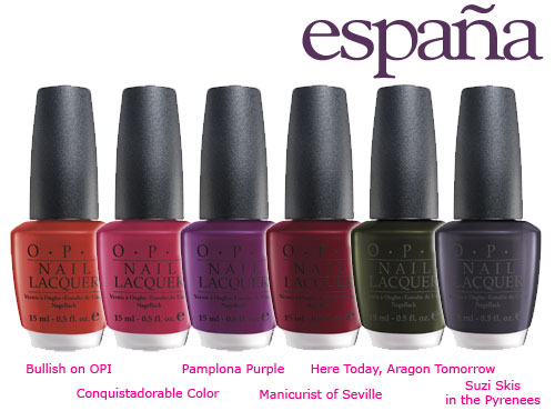 OPI_Espana fall 2009