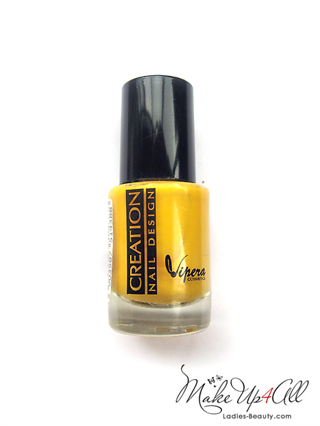 creation nail design yellow nail polish