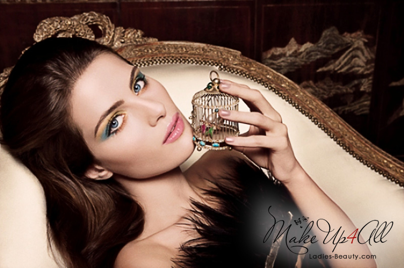 Golden Cage Makeup Collection by Channel Holiday 2009