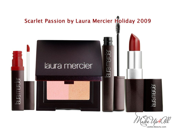 Scarlet Passion Holiday 2009 Makeup Collection by Laura Mercier