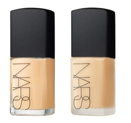 nars sheer glow foundation. sheer matte foundation