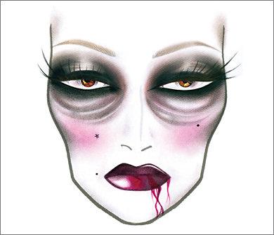 Deadly Dame halloween