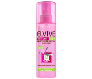 loreal shine spray