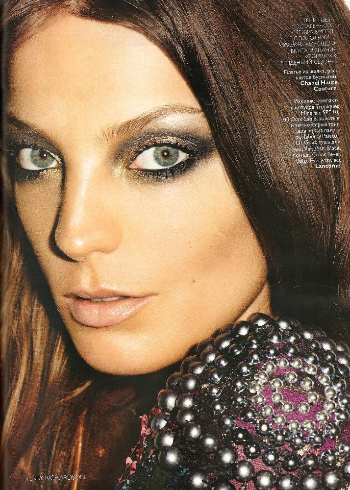 vogue november daria werbowy