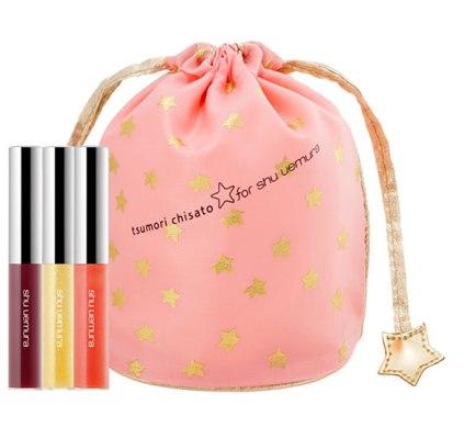 Tsumori Chisato for shu uemura 'Gloss Unlimited' Mini Lip Gloss Trio