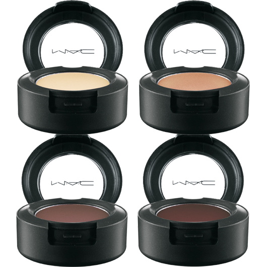 mac warm and cozy eyeshadows