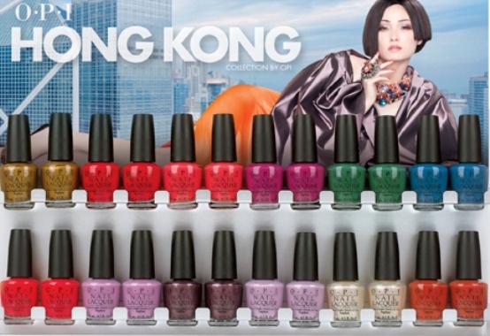 opi hong kong  collection holiday 2009