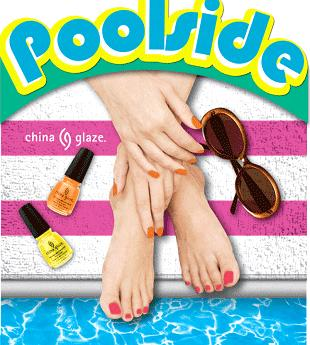 poolside  collection by china glaze summer 2010