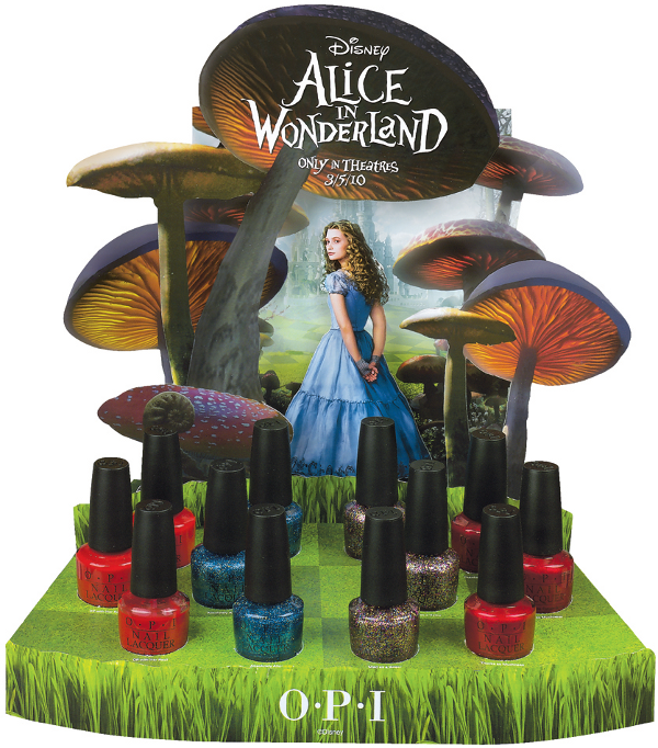 Alice in Wonderland OPI promo