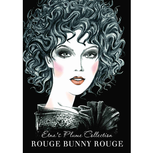 Etna's Plume Collection Rouge Bunny Rouge