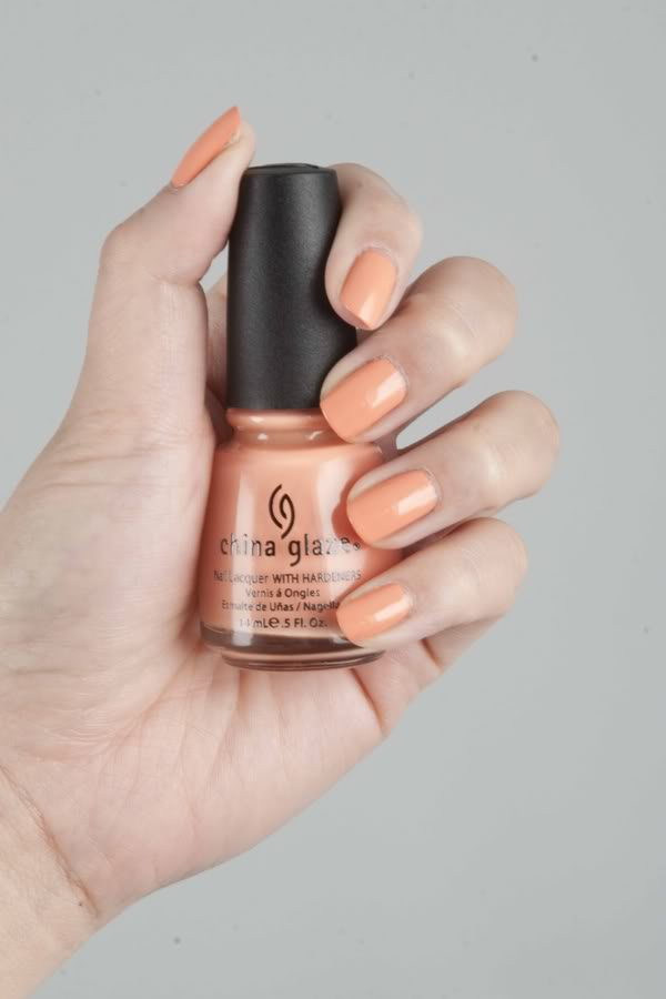 Peachy Keen up and away china glaze