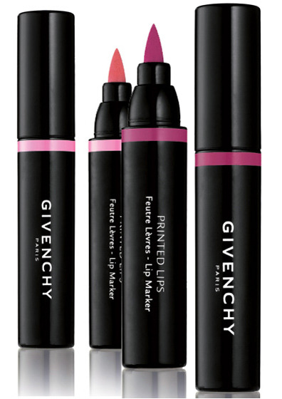 givenchy printed lips spring 2010