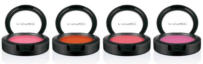 mac lillyland collection spring 2010 blushes