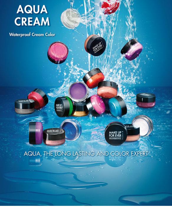 make up for ever aqua cream shadows makeup4all. Black Bedroom Furniture Sets. Home Design Ideas