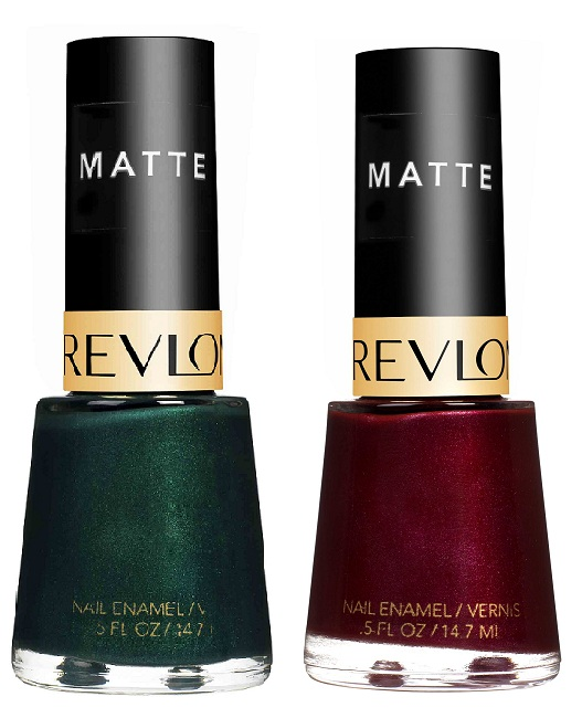 Revlon Nail Polishes: Revlon Suede Rhapsody Fall 2010 Makeup Collection
