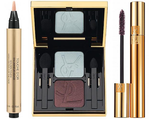 yves saint laurent metallic colorama makeup collection for. Black Bedroom Furniture Sets. Home Design Ideas