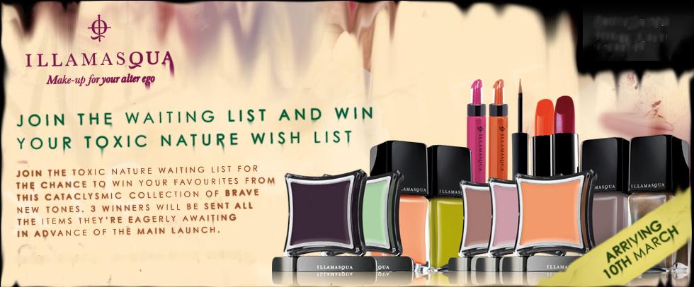 Toxic Nature by Illamasqua Cosmetics