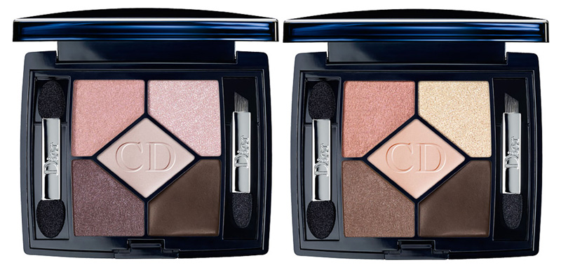 Dior 5-Color Lift Eyeshadow Palettes and Chanel Prelude ...