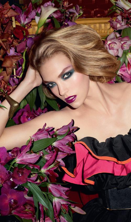 yves saint laurent jardin de minuit makeup collection for. Black Bedroom Furniture Sets. Home Design Ideas