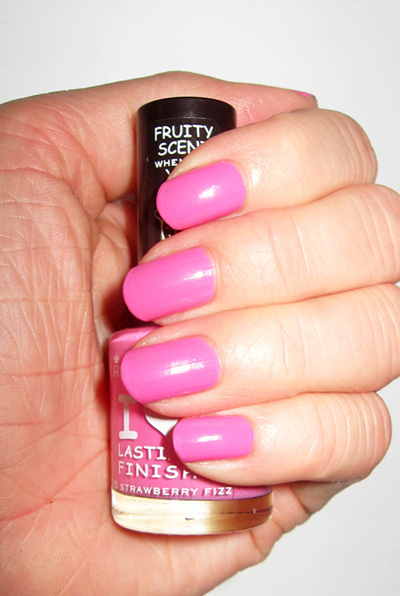 ... The Day: Rimmel Lasting Finish Fruities Nail Polish in Strawberry Fizz