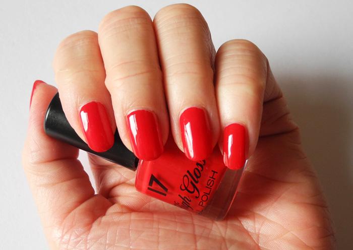 Risky Red nail polish