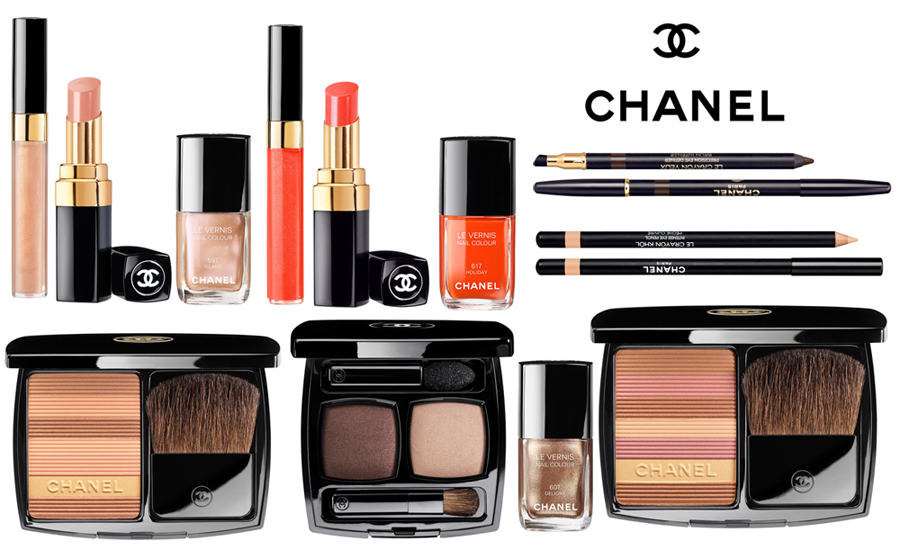 chanel summertime de chanel makeup collection for summer