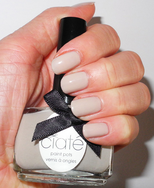 Ciate London Chrome Nail Polish: Nails Of The Day: Ciate Paint Pot In Cookies And Cream